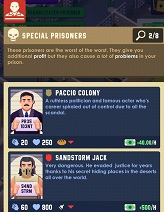Prison Empire Tycoon Special Prisoners