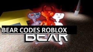 BEAR CODES ROBLOX