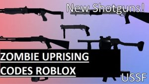 Zombie Uprising Codes Roblox